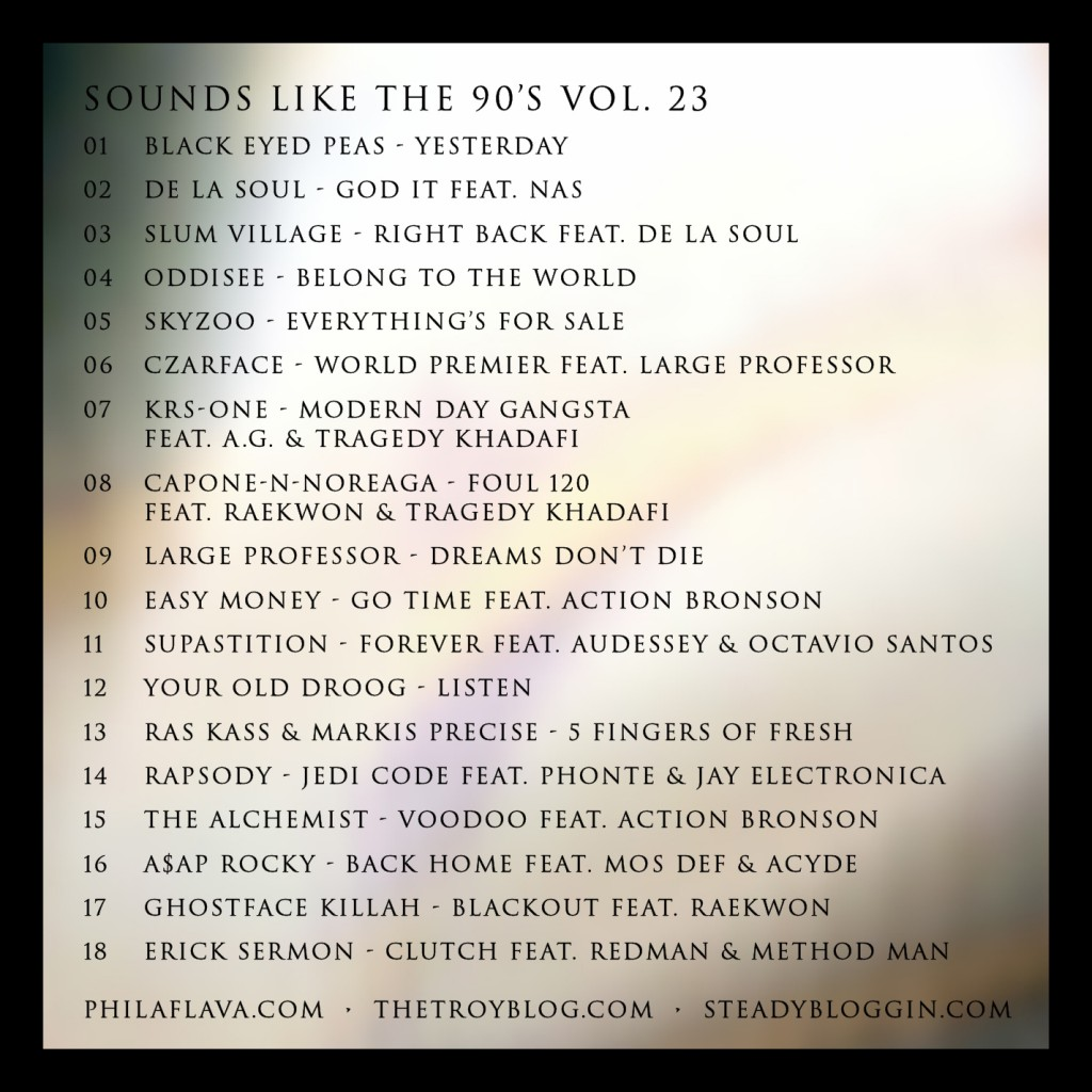00 VA - Sounds Like The 90's Volume 23 - tracklist